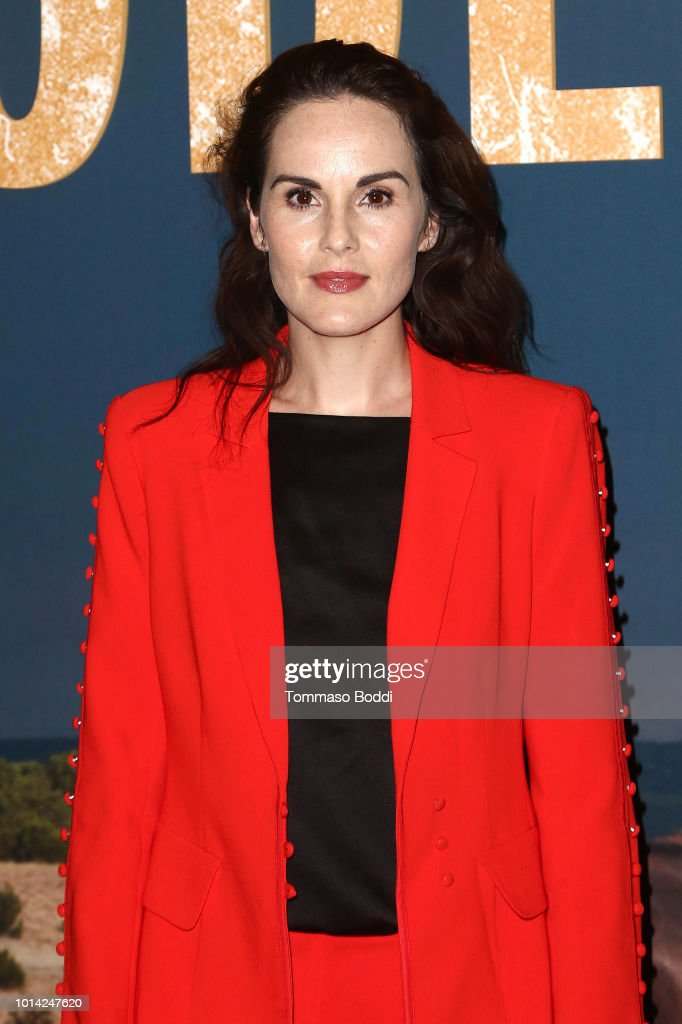 Michelle Dockery attends the Netflix Celebrates 12 Emmy Nominations For 'Godless' at DGA Theater on August 9, 2018 in Los Angeles, California.