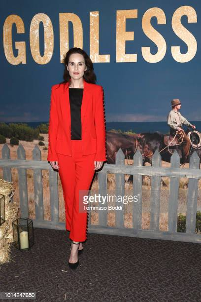 Michelle Dockery attends the Netflix Celebrates 12 Emmy Nominations For Godless at DGA Theater on August 9 2018 in Los Angeles California