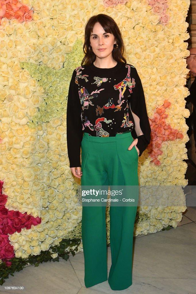 Schiaparelli : Front Row - Paris Fashion Week - Haute Couture Spring Summer 2019 : News Photo