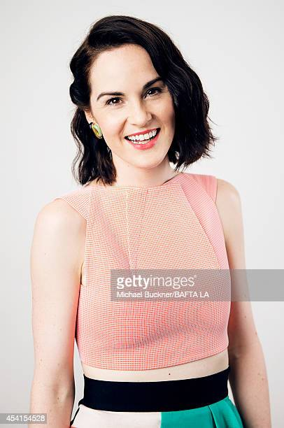Michelle Dockery poses for a portrait at the BAFTA Tea Party on August 23 2014 in Los Angeles California