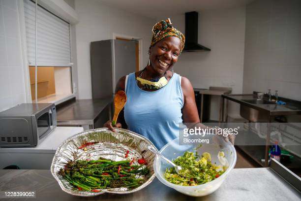 Michelle Dornelly, founder of charity Children with Voices, poses for a photograph at Gascoyne Community Centre in Hackney, London, U.K., on...