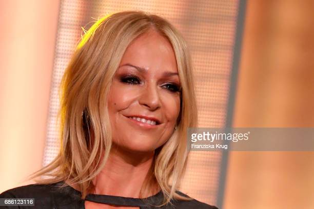 Michelle during the tv show 'Willkommen bei Carmen Nebel' at Velodrom on May 20 2017 in Berlin Germany