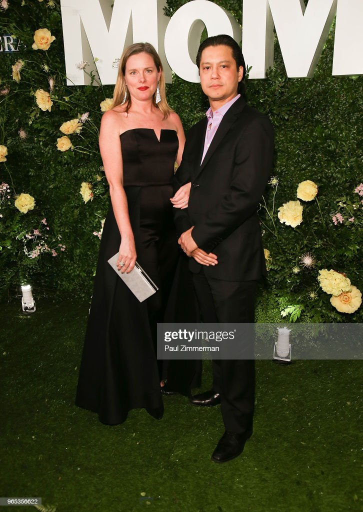 Michelle Elligot (L) attends the 2018 MoMA Party In The Garden at Museum of Modern Art on May 31, 2018 in New York City.