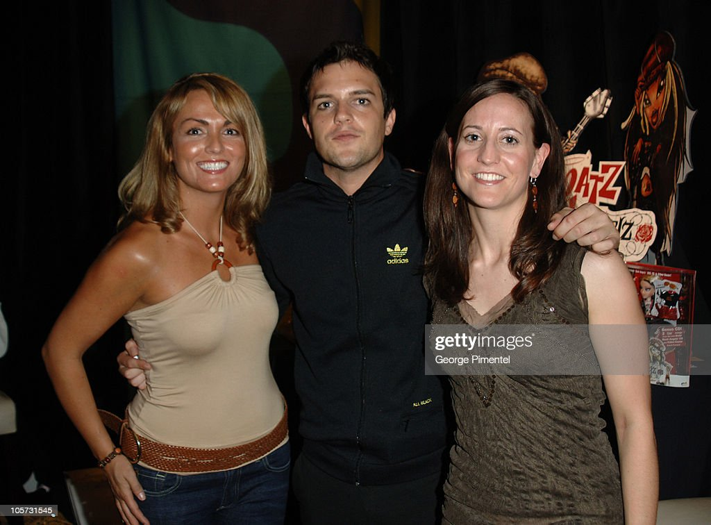 Michelle Ellis, Brandon Flowers of The Killers and Laura Weise