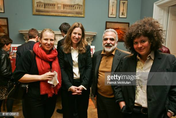Michelle Everet Beth Dockerty Doug Turshen and Julia Turshen attend the PUBLICATION OF CAROLYNE ROEHM'S A PASSION FOR INTERIORS AND BOOK SIGNING at...