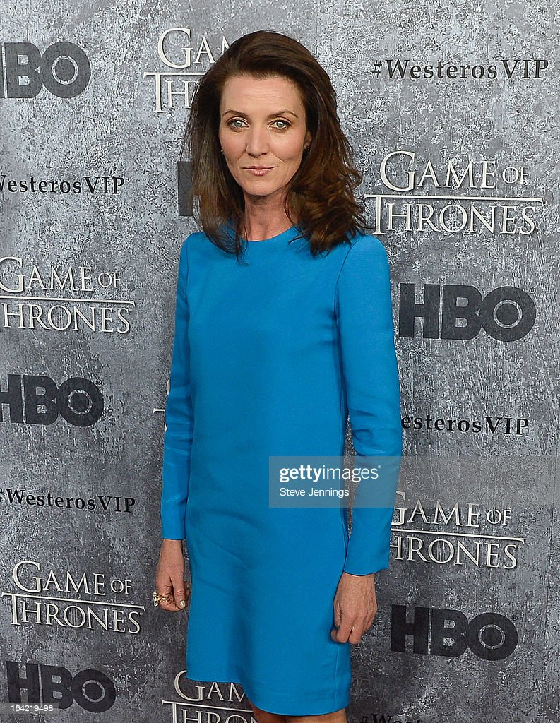 Michelle Fairle attends the Season 3 Premiere of HBO's 'Game Of Thrones' at Palace Of Fine Arts Theater on March 20, 2013 in San Francisco, California.