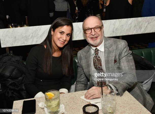 Michelle Figueroa and Michael Lebowidz attend as DuJour cover star Felicity Jones celebrates their winter issue with CEO and Founder Jason Binn...