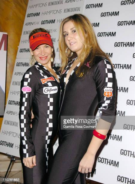 Michelle Fox and Megan Fischer during Gotham Magazine and Richard Gere Celebrate Halloween October 29 2005 at Capitale in New York City New York...