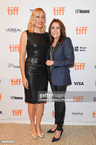 Michelle Gath Sinclair and Camelia Gath attend the 'Terry Kath Experience' premiere during the 2016 Toronto International Film Festival at Winter...