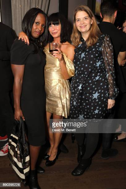 Michelle Gayle Collette Cooper and Andrea Lowe attend Collette Cooper's birthday party and the launch of the Collette Cooper edition candle by Monroe...