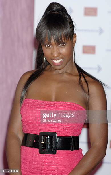 Michelle Gayle during A Touch Of Pink VIP Fundraising Party at Madame Tussauds in London Great Britain