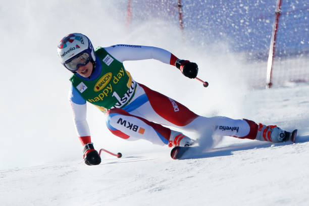 BGR: Audi FIS Alpine Ski World Cup - Women's Downhill Training