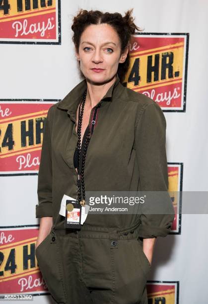 Michelle Gomez attends 24 Hour Plays on Broadway at American Airlines Theatre on October 30 2017 in New York City