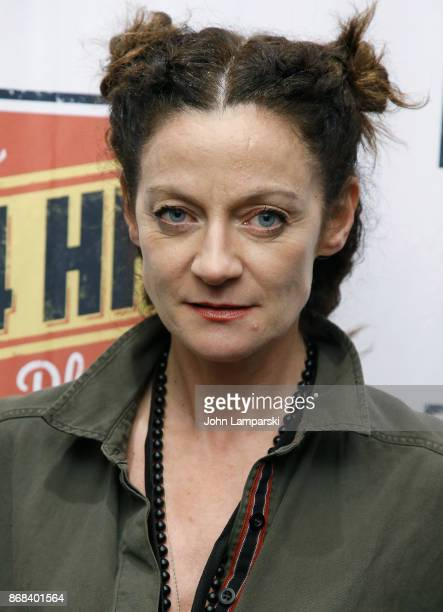 Michelle Gomez attends 24 hour plays on Broadway honoring Marsha Norman at American Airlines Theatre on October 30 2017 in New York City