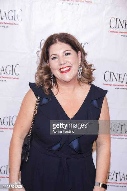 Michelle Haffield attends the 30th Anniversary Of The CineMagic Charity Gala at The Fairmont Miramar Hotel & Bungalows on June 27, 2019 in Santa...