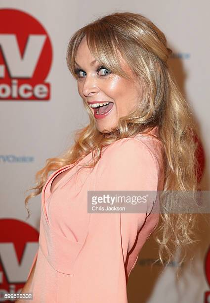 Michelle Hardwick arrives for the TV Choice Awards at The Dorchester on September 5 2016 in London England