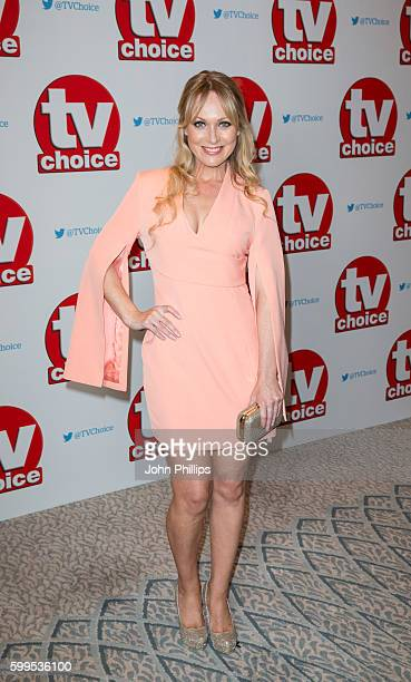 Michelle Hardwick arrives for the TV Choice Awards at The Dorchester Hotel on September 5 2016 in London England