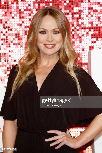 Michelle Hardwick arriving at the ITV Gala held at the London Palladium on November 9 2017 in London England