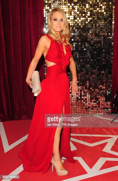 Michelle Hardwick arriving for the 2013 British Soap Awards at MediaCityUK Salford Manchester