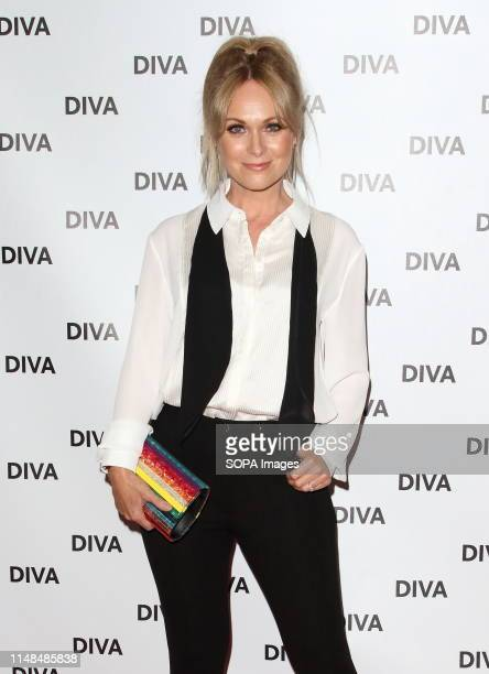 Michelle Hardwick at the DIVA Magazine Awards at the The Waldorf Hilton Aldwych London