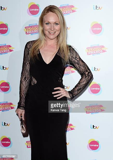 Michelle Hardwick attends Lorraine's High Street Fashion Awards held at Vinopolis on May 21 2014 in London England
