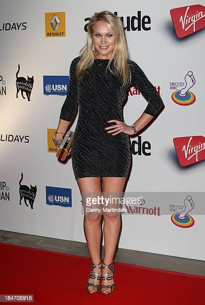 Michelle Hardwick attends the Attitude Magazine awards at Royal Courts of Justice Strand on October 15 2013 in London England