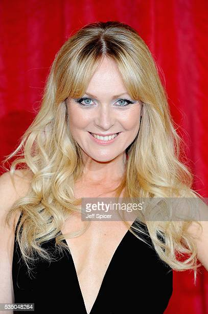 Michelle Hardwick attends the British Soap Awards 2016 at Hackney Empire on May 28 2016 in London England