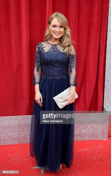 Michelle Hardwick attends the British Soap Awards 2018 at Hackney Empire on June 2 2018 in London England