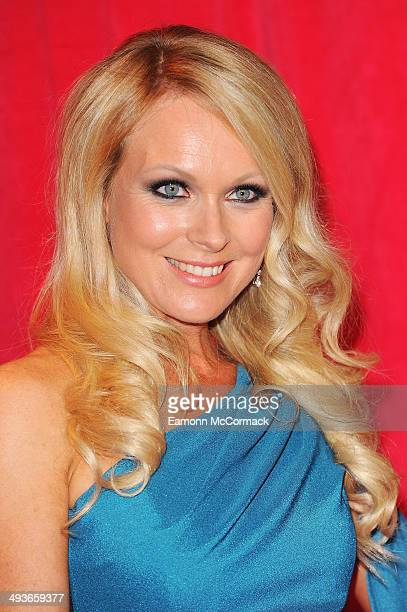 Michelle Hardwick attends the British Soap Awards at Hackney Empire on May 24 2014 in London England