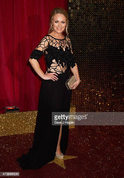 Michelle Hardwick attends the British Soap Awards at Manchester Palace Theatre on May 16 2015 in Manchester England