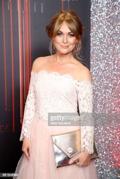 Michelle Hardwick attends The British Soap Awards at The Lowry Theatre on June 3 2017 in Manchester England The British Soap Awards will be aired on...