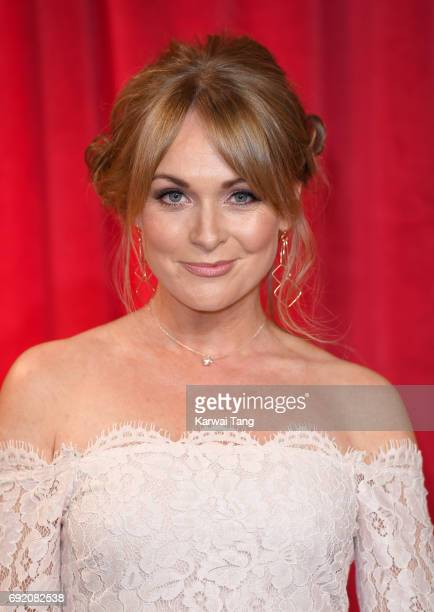 Michelle Hardwick attends the British Soap Awards at The Lowry Theatre on June 3 2017 in Manchester England