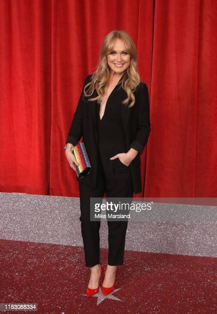 Michelle Hardwick attends the British Soap Awards at The Lowry Theatre on June 01 2019 in Manchester England