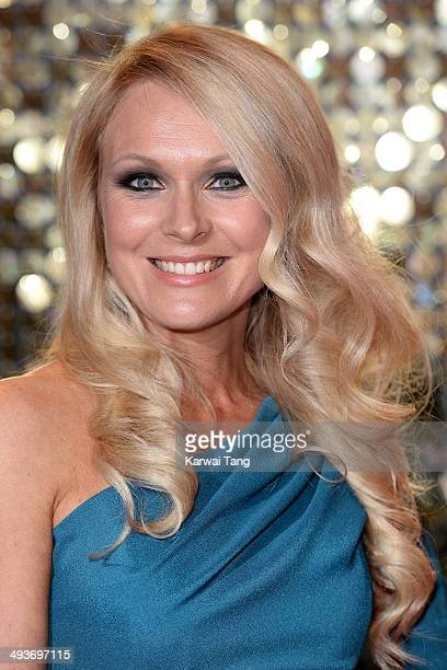 Michelle Hardwick attends the British Soap Awards held at the Hackney Empire on May 24 2014 in London England