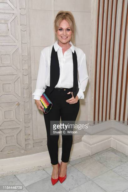 Michelle Hardwick attends the Diva Awards 2019 at The Waldorf Hilton Hotel on June 07 2019 in London England