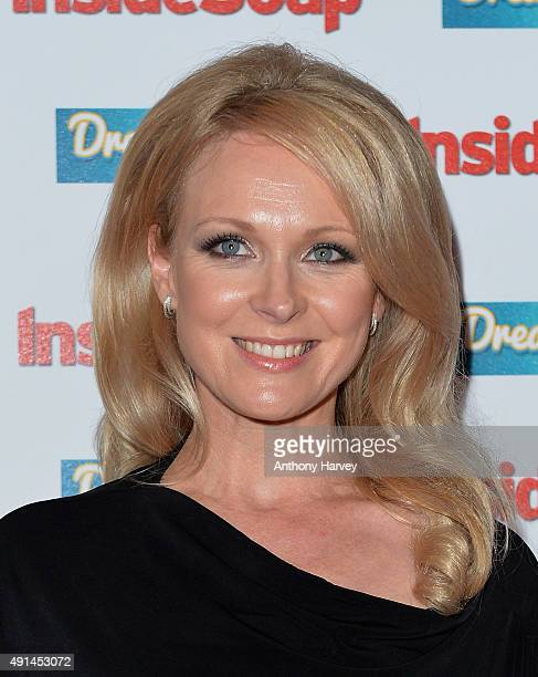 Michelle Hardwick attends the Inside Soap Awards at DSKTRT on October 5 2015 in London England
