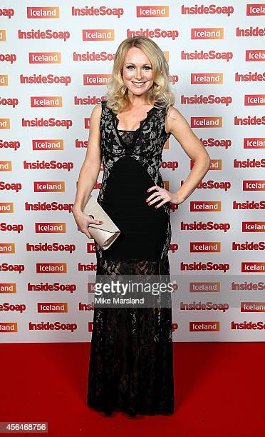 Michelle Hardwick attends the Inside Soap Awards at Dstrkt on October 1 2014 in London England