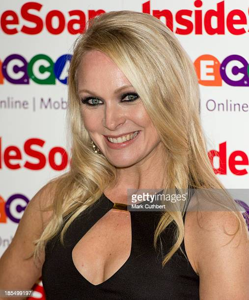 Michelle Hardwick attends the Inside Soap Awards at Ministry Of Sound on October 21 2013 in London England