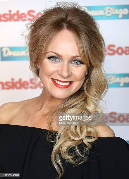 Michelle Hardwick attends the Inside Soap Awards at The Hippodrome on October 3 2016 in London England