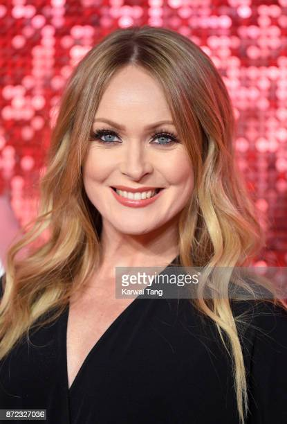Michelle Hardwick attends the ITV Gala at the London Palladium on November 9 2017 in London England