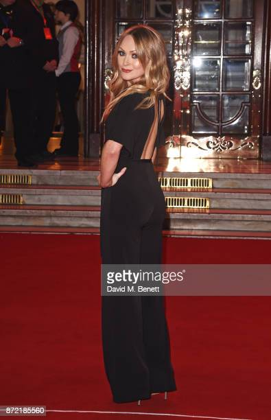 Michelle Hardwick attends the ITV Gala held at the London Palladium on November 9 2017 in London England