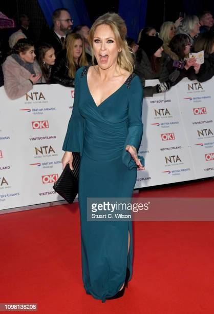 Michelle Hardwick attends the National Television Awards held at the O2 Arena on January 22 2019 in London England