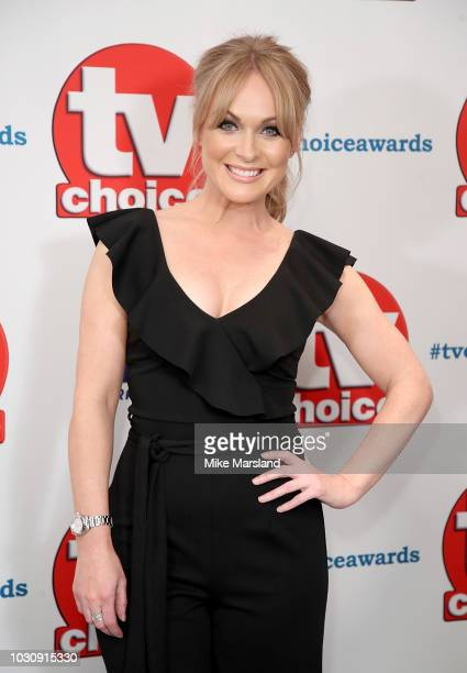 Michelle Hardwick attends the TV Choice Awards at The Dorchester on September 10 2018 in London England