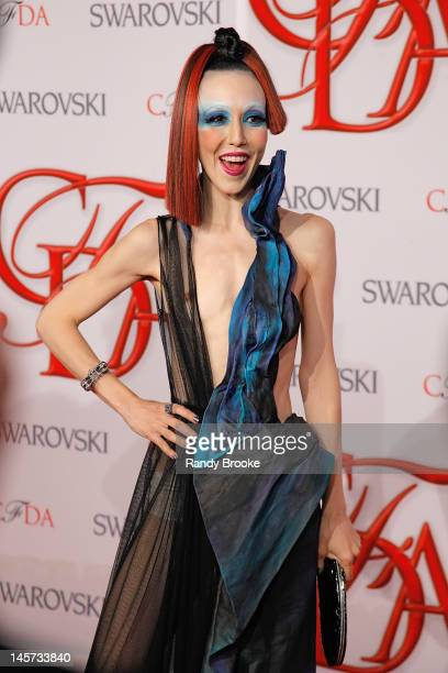 Michelle Harper attends 2012 CFDA Fashion Awards at Alice Tully Hall on June 4 2012 in New York City