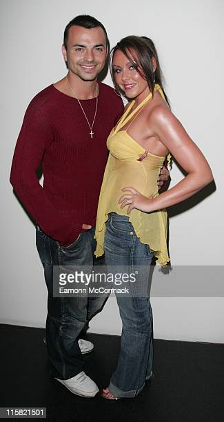 Michelle Heaton and Andy ScottLee during Sound Bar Restaurant Nightclub VIP Launch Party in London