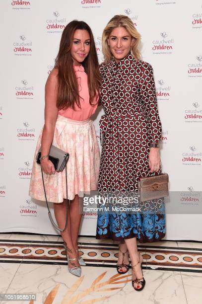 Michelle Heaton and Hofit Golan attend the Caudwell Children London Ladies Lunch held at The Dorchester on October 12 2018 in London England