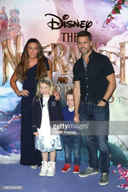 Michelle Heaton and Hugh Hanley attend the European Premiere of Disney's 'The Nutcracker' at Vue Westfield on November 01 2018 in London England