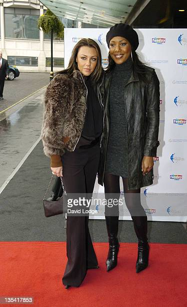 Michelle Heaton And Kelli Young Of Liberty X During The  Peter Pan Awards Arrivals At