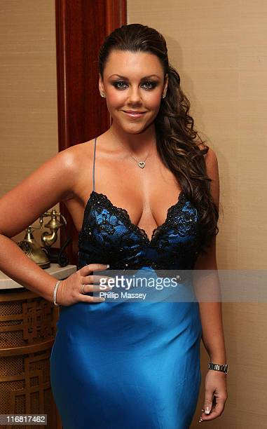 Michelle Heaton arrives at the VIP Style Awards in the Shelbourne Hotel on Mach 7 2008 in Dublin Ireland