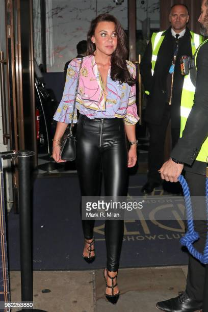 Michelle Heaton at Reign nightclub on May 24 2018 in London England